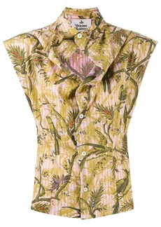 Vivienne Westwood embroidered sleeveless shirt