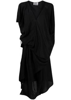 Vivienne Westwood gathered side T-shirt dress