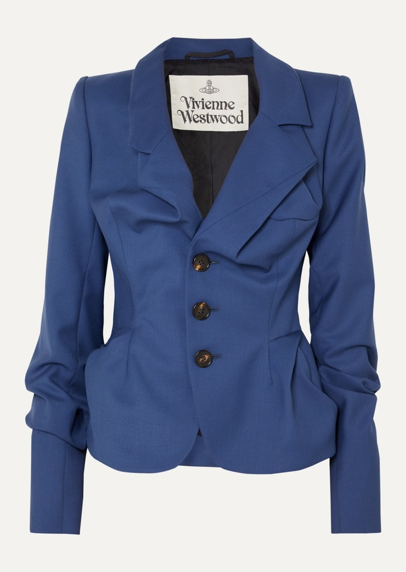 Vivienne Westwood Gathered Wool Blazer