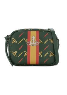 Vivienne Westwood Hampton Printed Leather Shoulder Bag