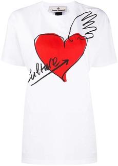 Vivienne Westwood heart-print cotton T-shirt