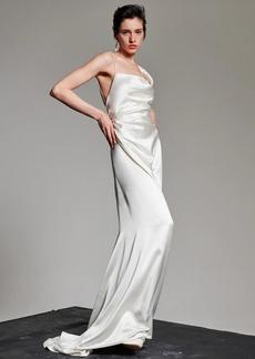 Vivienne Westwood Heavy Silk Satin Minerva Dress