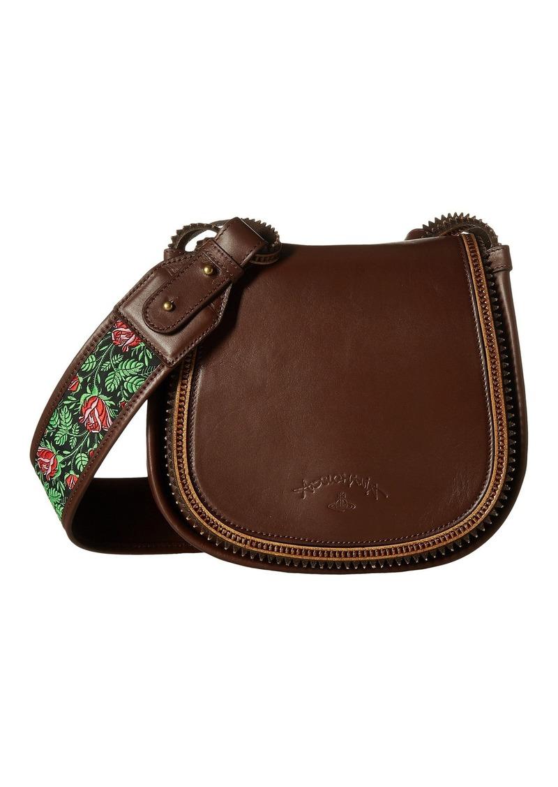 31a7b1e7b6a6 SALE! Vivienne Westwood Heidi Medium Crossbody Bag