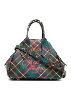 Vivienne Westwood hunting tartan print tote bag