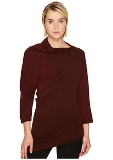 Vivienne Westwood Liberate Drape Neck Long Sleeve Top