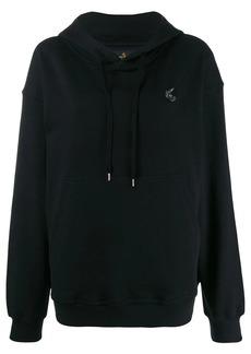 Vivienne Westwood logo patch hoodie
