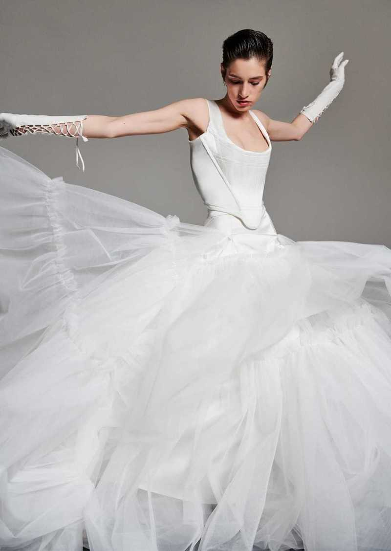 Vivienne Westwood Long Multilayer Tulle Maxi Skirt