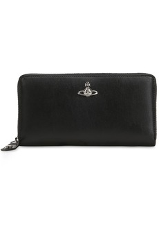 Vivienne Westwood Matilda Leather Zip Around Wallet