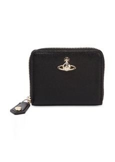 Vivienne Westwood Medium Saffiano Zip Around Wallet