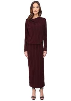 Vivienne Westwood Midi Long Sleeve Boudicca Dress