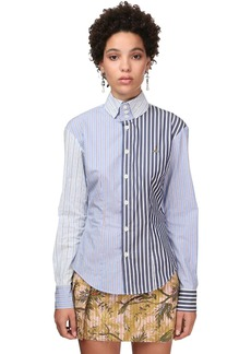 Vivienne Westwood Multistripe Cotton Poplin Shirt