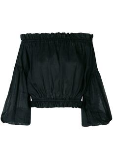 Vivienne Westwood off-the-shoulder blouse