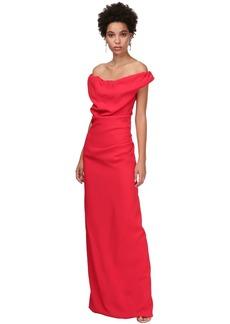 Vivienne Westwood Off-the-shoulder Envers Satin Dress