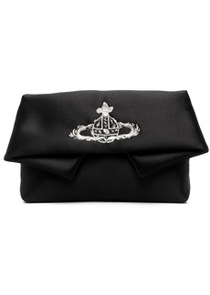 Vivienne Westwood Orb embroidery clutch