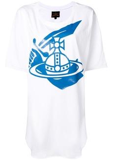 Vivienne Westwood oversized graphic print T-shirt