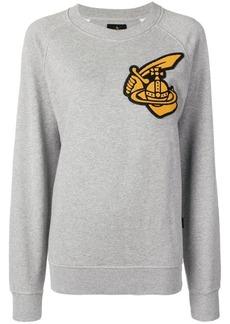 Vivienne Westwood oversized patch sweatshirt