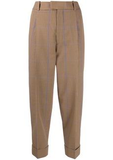 Vivienne Westwood plaid print trousers