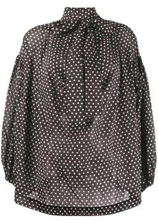 Vivienne Westwood polka dot blouse