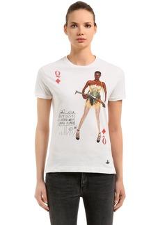 Vivienne Westwood Printed Cotton Jersey T-shirt