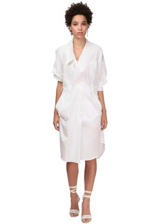 Vivienne Westwood Printed Cotton Poplin Dress