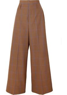 Vivienne Westwood Puppytooth Tweed Wide-leg Pants