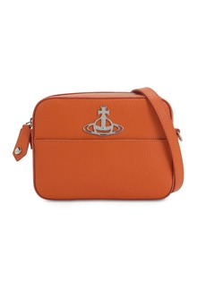 Vivienne Westwood Rachel Grained Leather Camera Bag