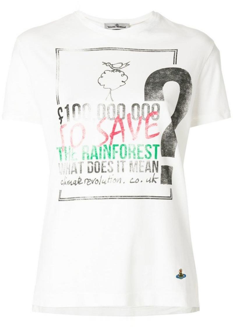 e771804c0 Vivienne Westwood rainforest print T-shirt | Tees