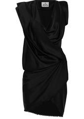 Vivienne Westwood River Draped Satin Mini Dress