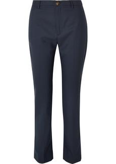 Vivienne Westwood Serge Wool Straight-leg Pants