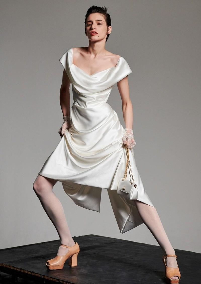 Vivienne Westwood Silk Satin Cocotte Dress