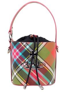 Vivienne Westwood Small Betty Tartan Bucket Bag