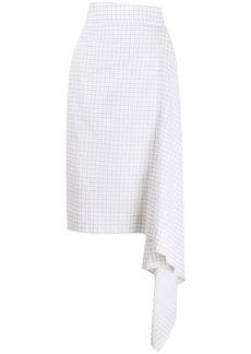 Vivienne Westwood spot grid blanket skirt