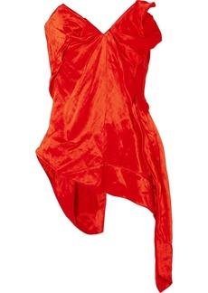 Vivienne Westwood Strapless Asymmetric Piqué Top