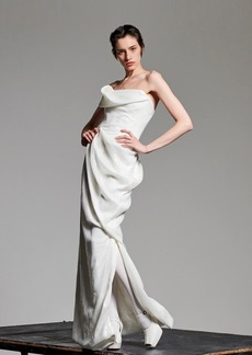 Vivienne Westwood Strapless Sequined Dress