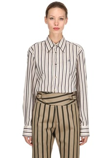 Vivienne Westwood Striped Cotton Shirt
