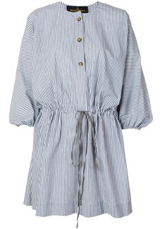 Vivienne Westwood striped cotton shirt dress