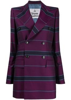 Vivienne Westwood striped double-breasted blazer