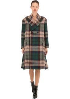 Vivienne Westwood Virgin Wool Plaid Coat