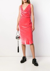 Vivienne Westwood virginia cowl neck dress