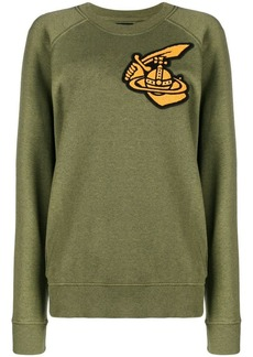 Vivienne Westwood classic embroidered logo sweatshirt