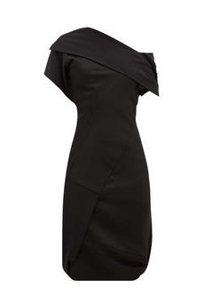 Vivienne Westwood Amnesia asymmetric crepe and satin dress