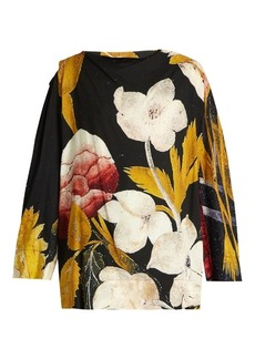 Vivienne Westwood Anglomania Fatima floral-print crepe blouse