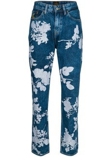Vivienne Westwood Anglomania floral print jeans - Blue
