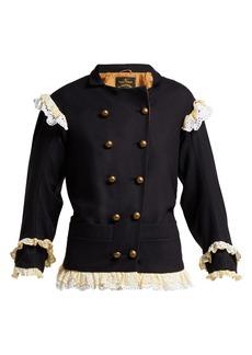 Vivienne Westwood Anglomania Pirate virgin wool-blend jacket