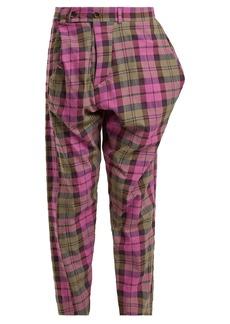 Vivienne Westwood Anglomania Tartan cotton-blend trousers