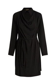 Vivienne Westwood Anglomania Tondo cowl-neck draped dress