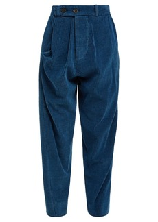Vivienne Westwood Anglomania Twisted corduroy trousers