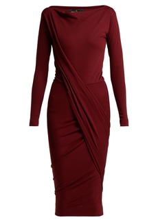 Vivienne Westwood Anglomania Vian draped jersey dress