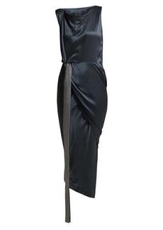 Vivienne Westwood Anglomania Vian draped satin dress