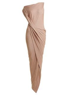 Vivienne Westwood Anglomania Vian off-the-shoulder draped dress